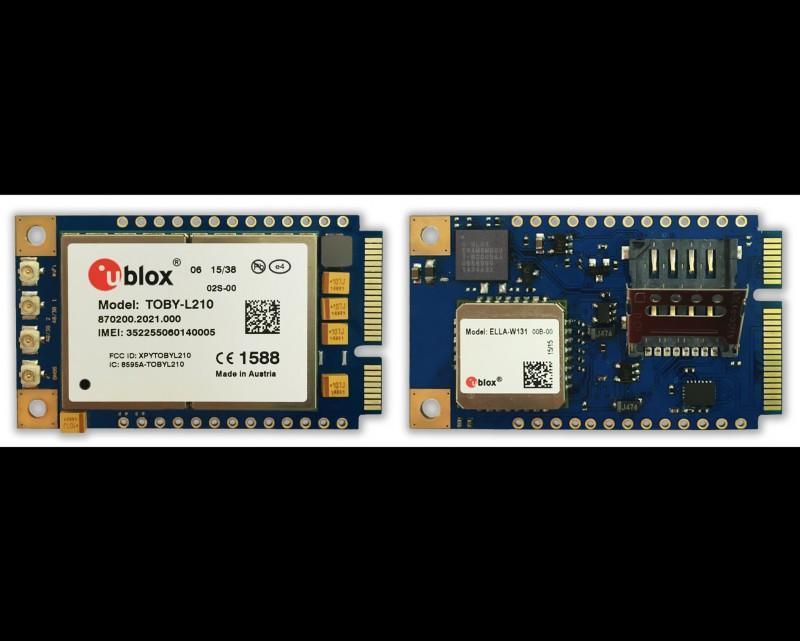 愛坦科技將u-blox完整的無線及GNSS模組解決方案 整合至其工業路由器平台