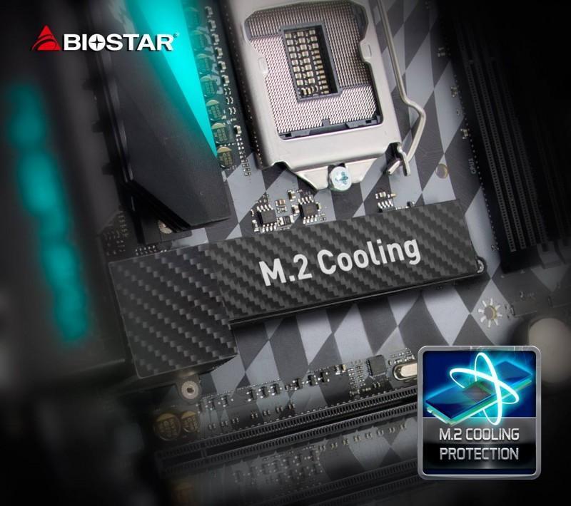 Biostar 下一代主機板具有M.2散熱和10GbE網路晶片