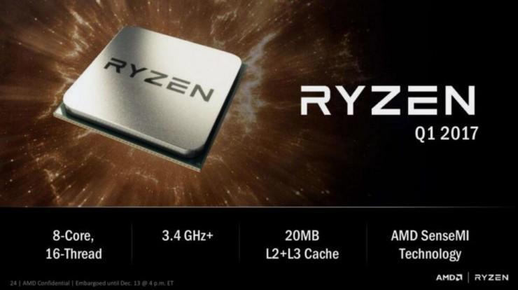 AMD 詳解Zen CPU 與英特爾抗衡,這裡有你想了解的一切核心細節