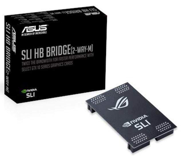 華碩 ASUS 推出簡易版本 NVIDIA SLI HB Bridge 橋接器