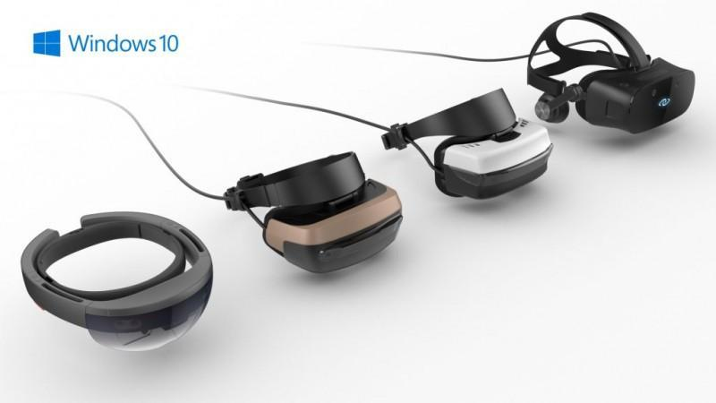 Microsoft 微軟將推出兩款 Windows 10 mixed reality虛擬實境頭盔