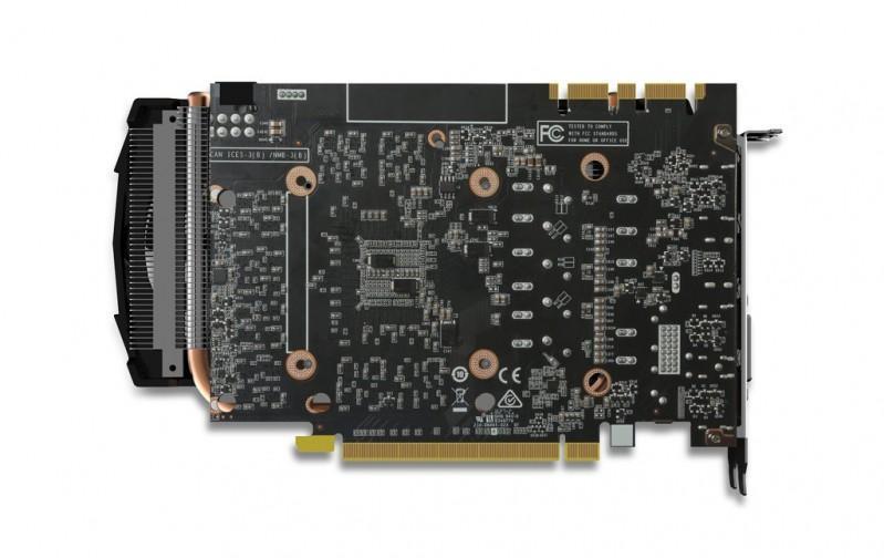 ZOTAC GTX 1070 Mini顯示卡長度僅220mm,小型遊戲效能主機新選