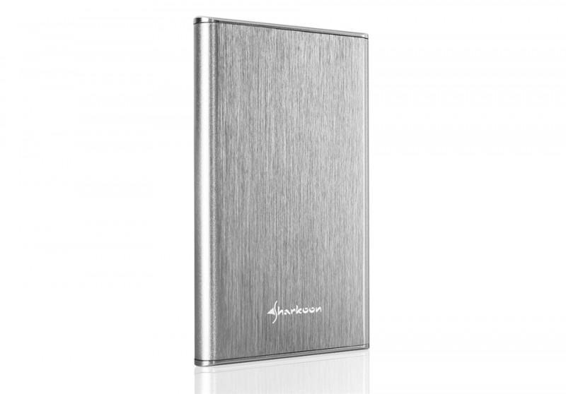 旋剛 Sharkoon 推出 Rapid-Case 2.5'' USB 3.1 Type C 磁碟外接盒