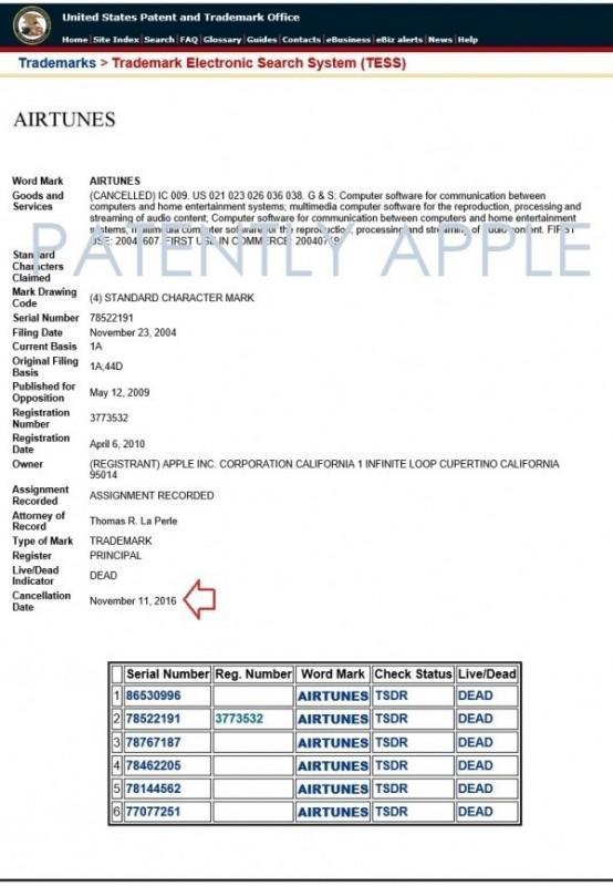 """蘋果在英國申請""""AirTunes""""商標,是要出新品了?"""