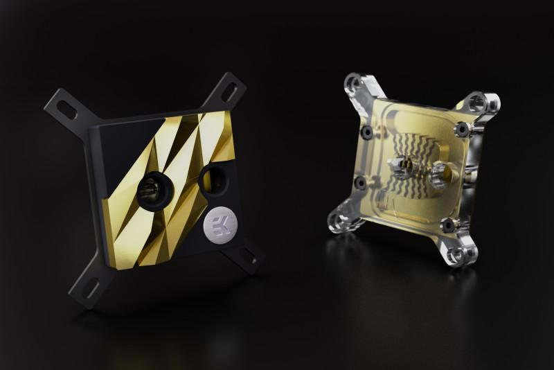 EKWB推出EK-Supremacy EVO 10th Anniversary紀念版CPU水冷頭