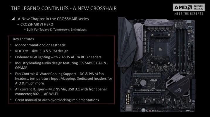 ASUS華碩ROG CROSSHAIR VI HERO與PRIME X370-PRO主機板曝光!