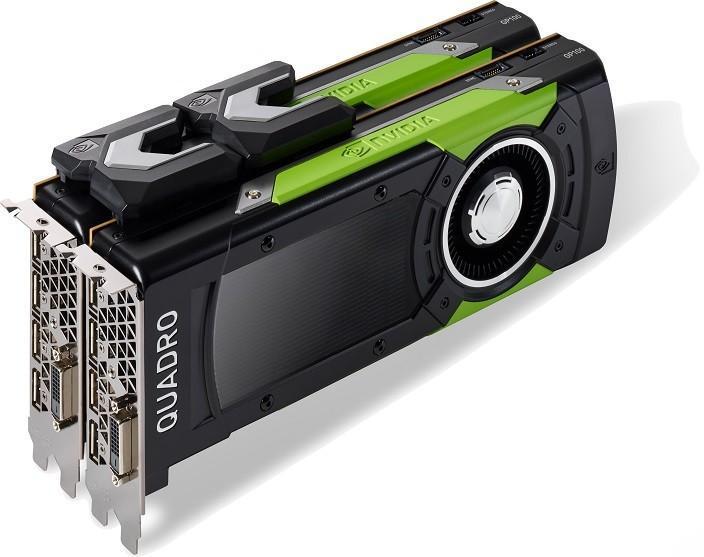 NVIDIA發表Quadro GP100等六款專業卡