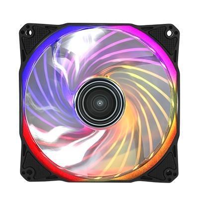 Antec 推出 Rainbow 120 RGB風扇,漸變單色皆可行