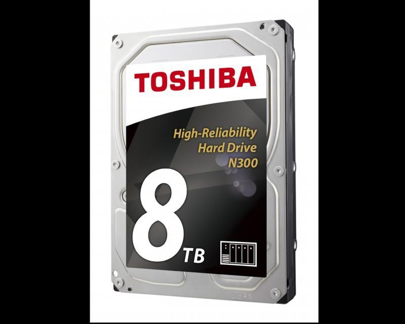 TOSHIBA強勢推出高效能8TB N300 NAS硬碟 搭載四大先銳技術勢將震撼市場
