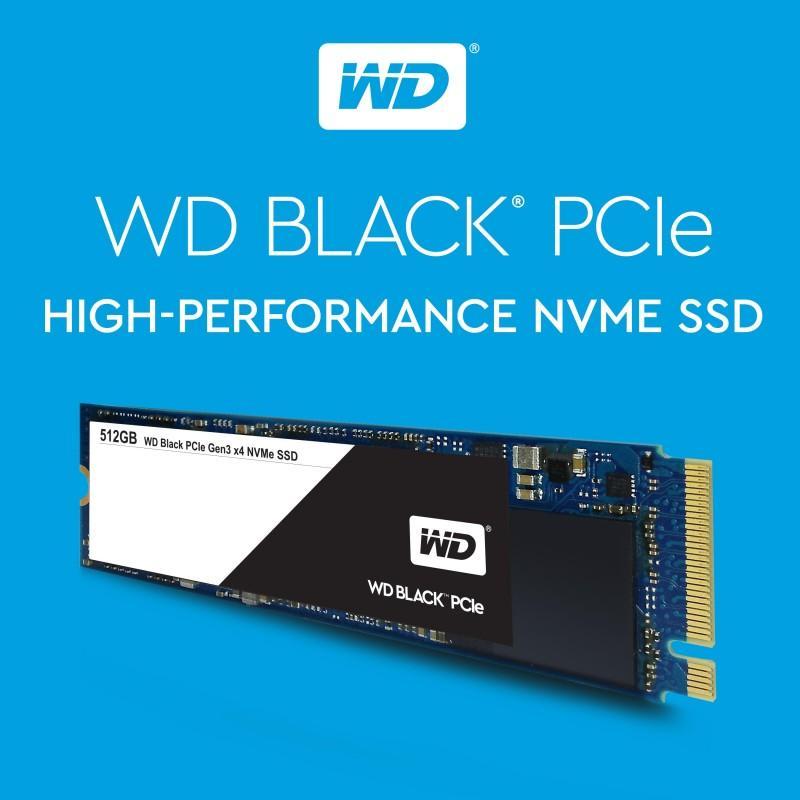 Western Digital 推出 WD Black PCIe SSD 加速市場採用NVMe產品需求