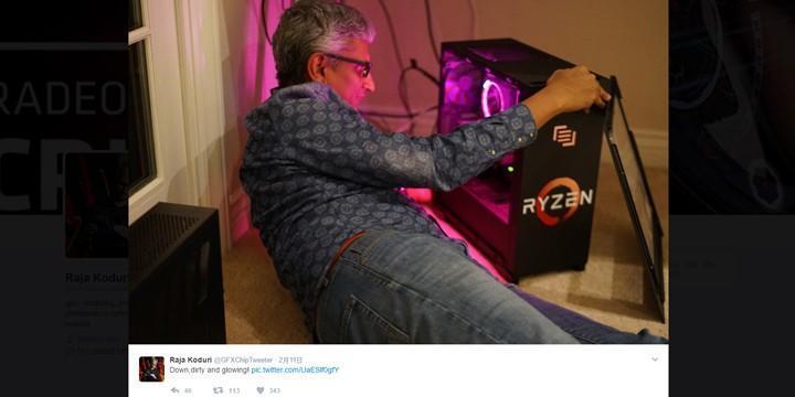 AMD Ryzen 處理器散熱器具備 RGB 燈光效果