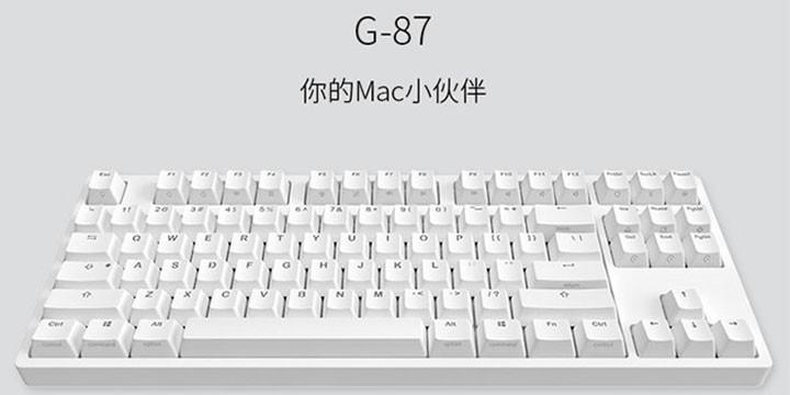 ikbc 推出新款 G 系列雙子座鍵盤 支援 Win/Mac 系統