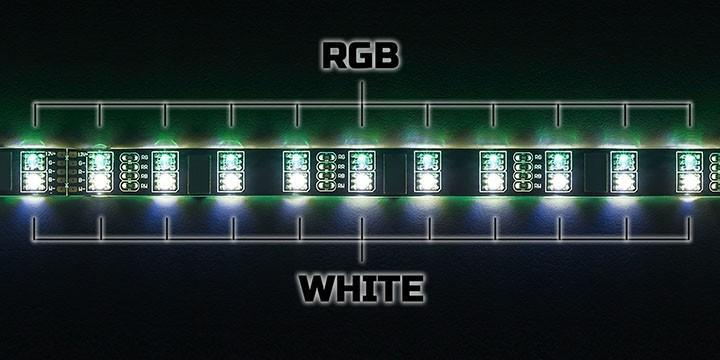 CableMod 推出 WideBeam Hybrid LED 燈條具備 RGB 與白光 LED