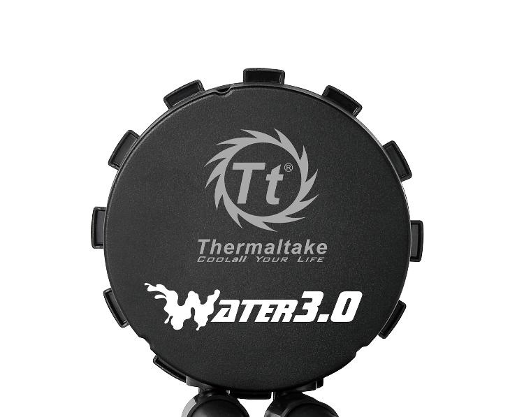 曜越全新Contac Silent 12 CPU 散熱器‧Water 3.0 Riing RGB 360一體式水冷散熱排‧Pacific W4 RGB CPU水...