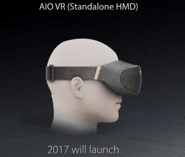 ASUS 華碩 VR 頭戴式顯示器亮相,預計年內發布