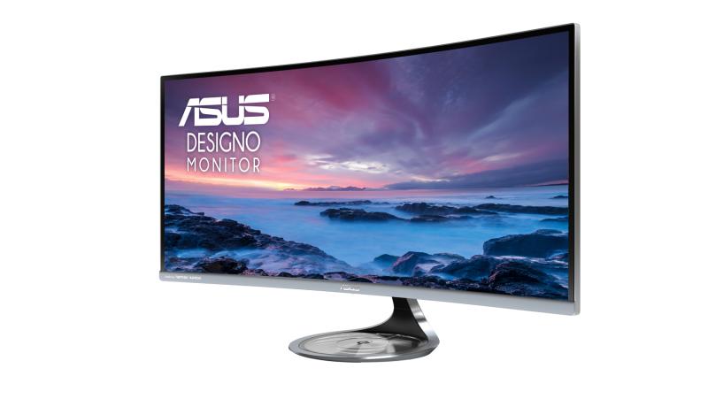 華碩全新曲面顯示器Designo Curve MX34VQ絕美上市