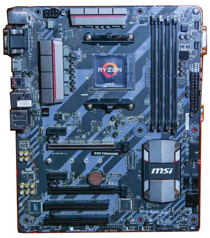 AMD Ryzen處理器登場,支援Ryzen CPU之主機板照片合輯