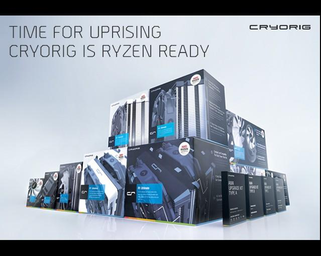 快睿推出Ryzen專用產品線 現有產品亦可升級AM4平台