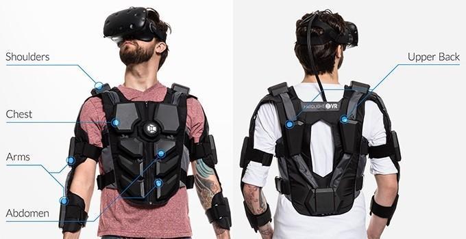 VR背心:體驗被擊打的fu