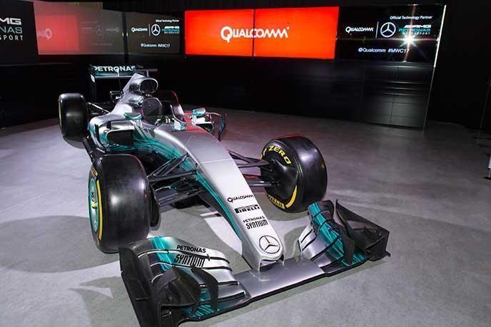 Qualcomm高通與Mercedes-AMG Petronas車隊於802.11ad Wi-Fi技術上展開合作