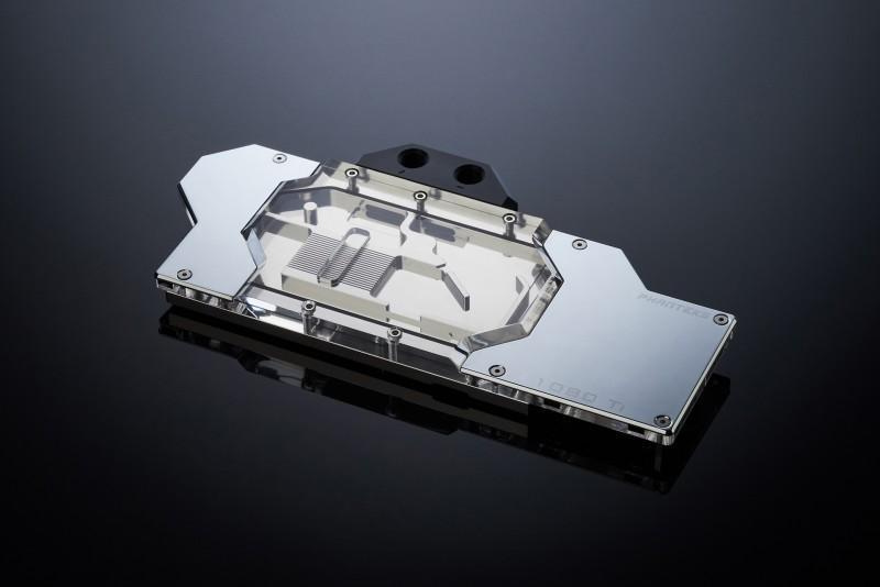 Phanteks推出Glacier G1080 Ti Founders Edition發光水冷頭,燈光可透過控制器或主機板同步