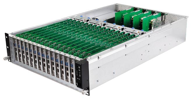 永擎電子將在WHD.global展出全新3U16N,16個節點一次滿足你對平行運算的渴望!