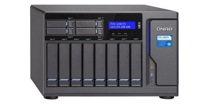 QNAP 推出 TVS-1282T3 Thunderbolt 3 NAS