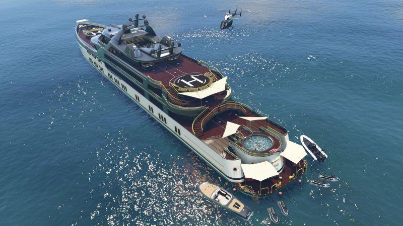 GTA 線上模式獎勵:「起死回生」模式可得雙倍 GTA 遊戲幣及聲望值、豪華遊艇折扣優惠及...