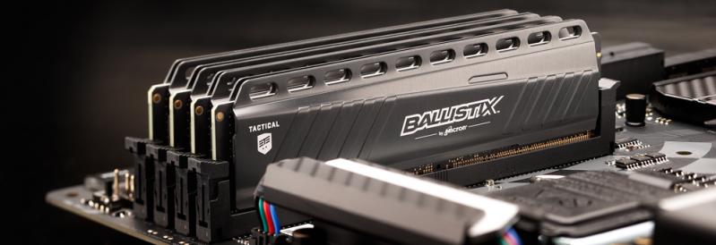 遊戲記憶體加持電競產業 Ballistix 遊戲記憶體支援玩家練就電競功力