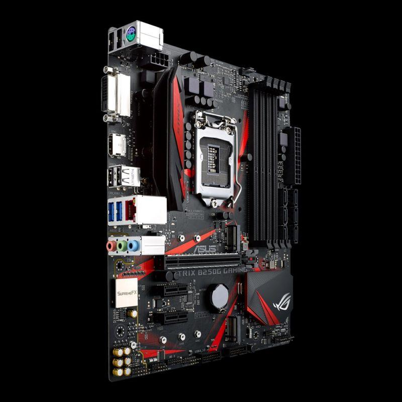 ASUS推出ROG STRIX B250H GAMING和ROG STRIX B250G GAMING主機板