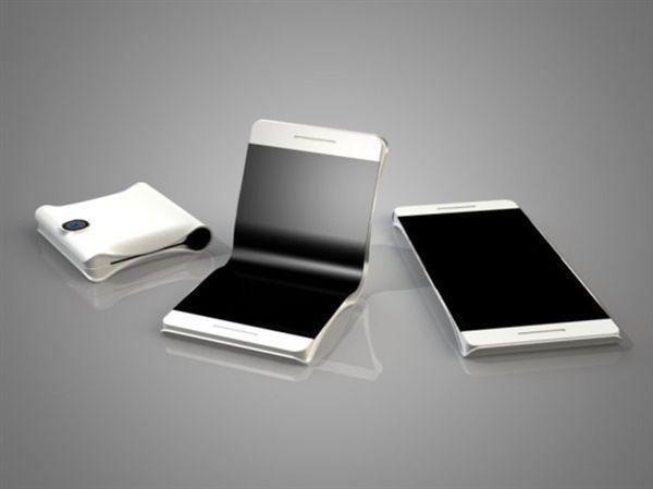 Samsung三星折疊螢幕手機曝光!