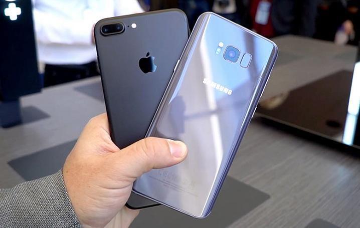 Samsung Galaxy S8+與APPLE iPhone 7 Plus火燒測試