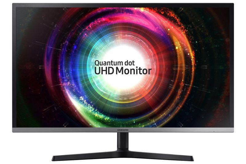 SAMSUNG 推出 4K 量子點螢幕U32H850,使用原生10 Bit VA面板
