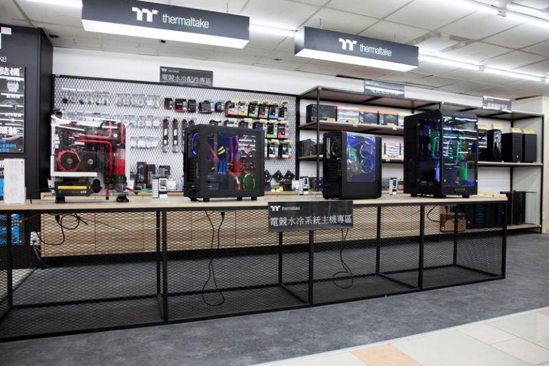 曜越TT Premium水冷電競主機進駐燦坤內湖旗艦店 打造全新專業水冷電競體驗殿堂