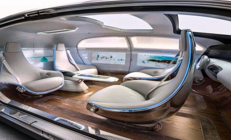 自動駕駛時代,汽車內裝設計將迎來新變革