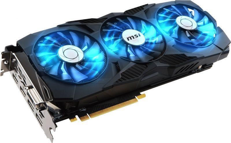 微星發布三風扇GeForce GTX 1080 Ti DUKE