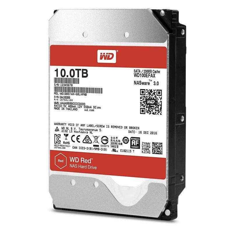 Western Digital擴充NAS硬碟系列產品 推出容量10TB的WD Red及WD Red Pro氦氣充填硬碟