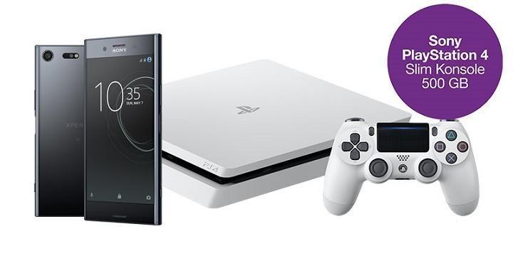 買SONY Xperia XZ Premium送PS4!