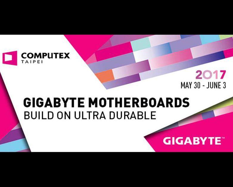 技嘉於2017 COMPUTEX國際電腦展展示X299主機板及電腦創新技術