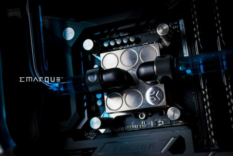 OCEAN X - Phanteks Enthoo Pro M Tempered Glass