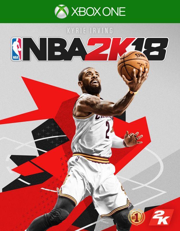 《NBA 2K18》請來拿下NBA總冠軍及KIA NBA全明星賽MVP的Kyrie Irving擔任封面球星