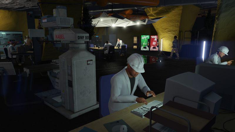 「GTA 線上模式:軍火走私」:地底地堡、機動作戰中心及武裝載具