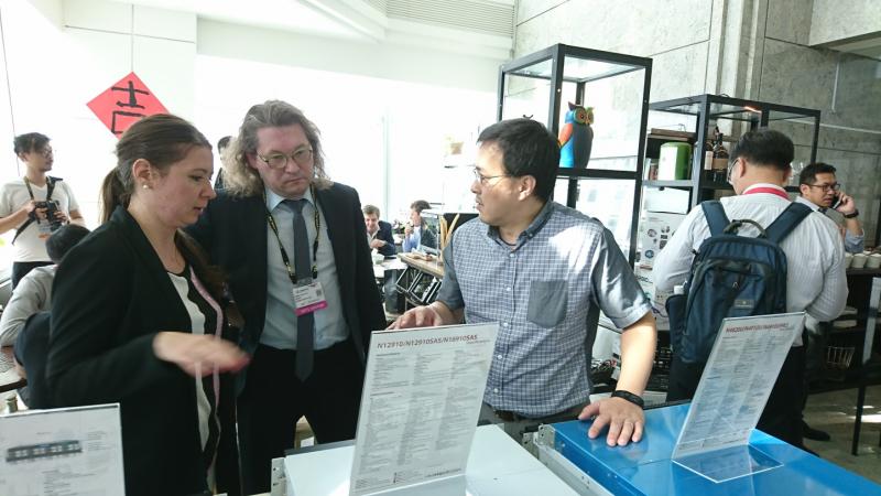 Thecus(R)於2017 Computex 在台北101 VIP展示會場大放異彩