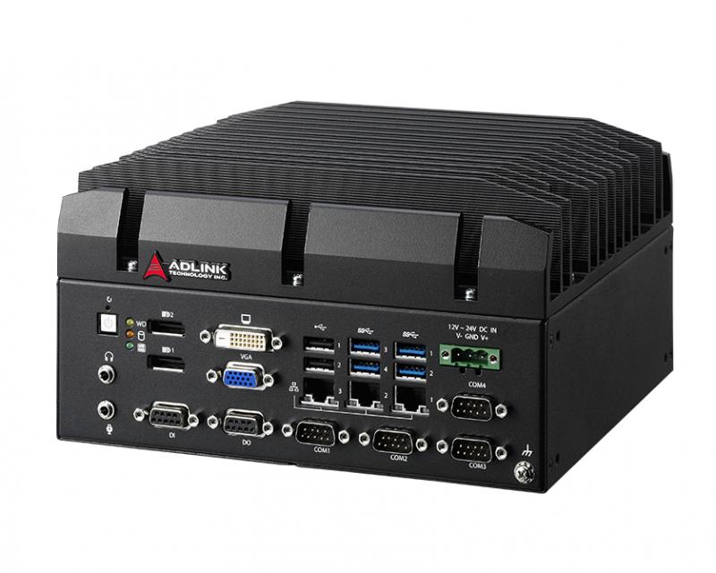 凌華科技發表新款嵌入式無風扇電腦MVP-5000 強化工業、工廠、物流自動化和通用嵌入式應...