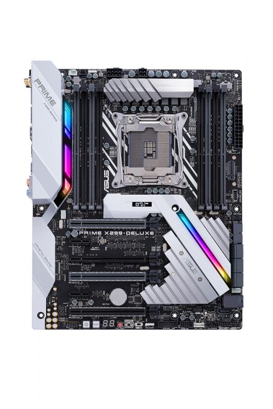 華碩推出全新X299系列主機板 頂尖效能 ‧ 只為玩家而生