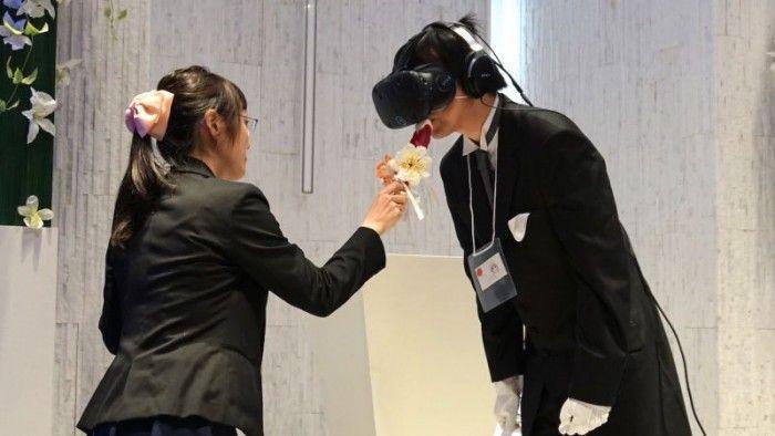 """日本推""""VR婚禮"""":與動漫女主角結婚!"""