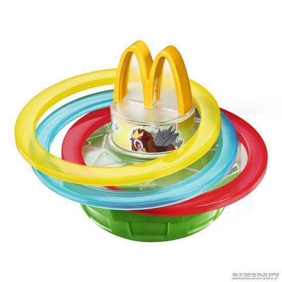 日本麥當勞推出《精靈寶可夢》玩具 皮卡丘萌到爆炸