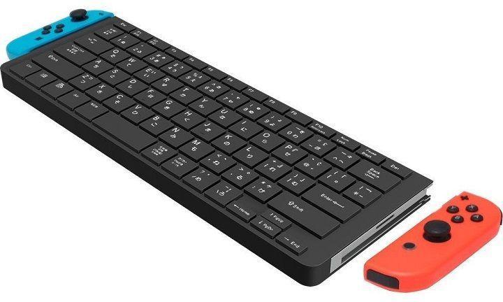 Cyber Gadget推出Nintendo任天堂Switch專用鍵盤