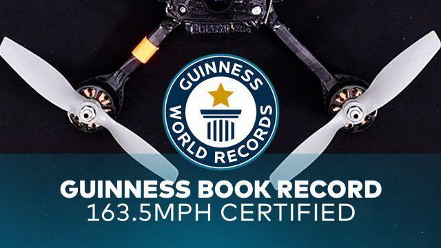 世界最快無人機:極速289km/hr