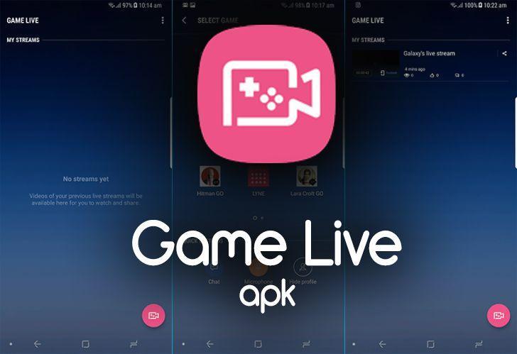 SAMSUNG三星發表手機遊戲直播應用程式-Game Live:支援三大社群平台